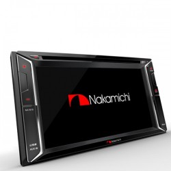 Nakamichi NA1600 Radio multimedia para autos AM FM DVD MP3 USB Bluetooth
