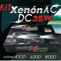 Onelux 35W Luces de Xenon HID H4 AC Headlight Kit completo 4300K, 6000K y 800K
