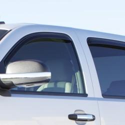 Hyundai Santa Fe 2013-2016 Viseras de puertas tipo toldos ventvisor AVS / set de 4 piezas