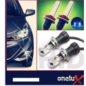 Onelux 55W Luces de Xenon HID 9007 AC Headlight Kit completo 4300K, 6000K y 8000K de 55 Watts