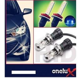 Onelux 55W Luces de Xenon HID H4 AC Headlight Kit completo 4300K, 6000K y 8000K de 55 Watts