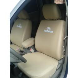 Hyundai Tucson Forros de asientos en Tela / Una, Dos o Tres filas de asientos.
