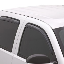Nissan Navara 2009-2015 Viseras de puertas tipo toldos ventvisor AVS / set de 4 piezas
