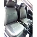 Toyota Yaris Forros de asientos para vehículos en leatherette (Vynil)