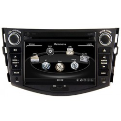 Toyota Rav-4 2011-2012 Radio multimedia pantalla touch de 7 pulgadas / Sistema Bluetooth