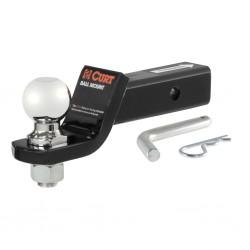 """Curt 45041 Kit Adaptador con bola de 2"""" y pasador incluidos"""