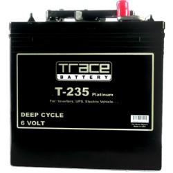 T-235 Trace Platinum Bateria para inversor 6-Voltios 235 Amperios Ciclo profundo