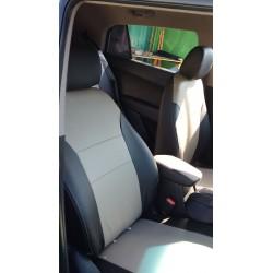 Hyundai Santa Fe 2013 2014 2015 2016 Forros de asientos en leatherette (Vynil)