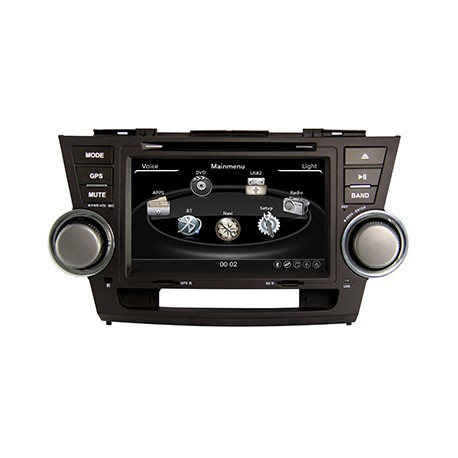 Radio DVD highlander 2008-2012