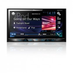Radio Pioneer AVH-X4800BS AM / FM / DVD / MP3 / USB / Bluetooth / Auxiliar / Pantalla de 7""