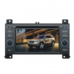 Jeep Grand Cherokee 2010 2011 2012 Radio DVD Bluettoth pantalla touch de 5.5 pulgadas