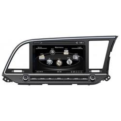 Hyundai Elantra 2016 Radio DVD Bluettoth pantalla touch de 8 pulgadas
