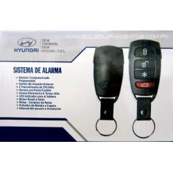 Hyundai Alarma de seguridad OEM controles logo Hyundai