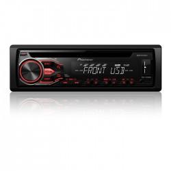 DEH-X1810UB AM FM CD MP3 USB Auxiliar Radio Pioneer para vehiculos