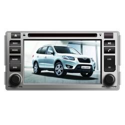 Hyundai Santa Fe 2007 2008 2009 2010 2011 Radio DVD Bluettoth pantalla touch de 7 pulgadas