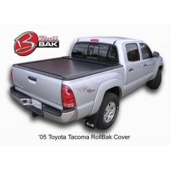 Toyota Tacoma de doble cabina 5 pies Cobertor de cama RollBak BAK-R15406