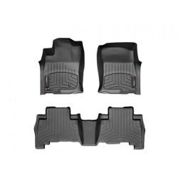 Lexus GX-460 2010 2011 2012 2013 Alfombras Weathertech 1ra y 2da filas de asientos set completo 44286-1-2