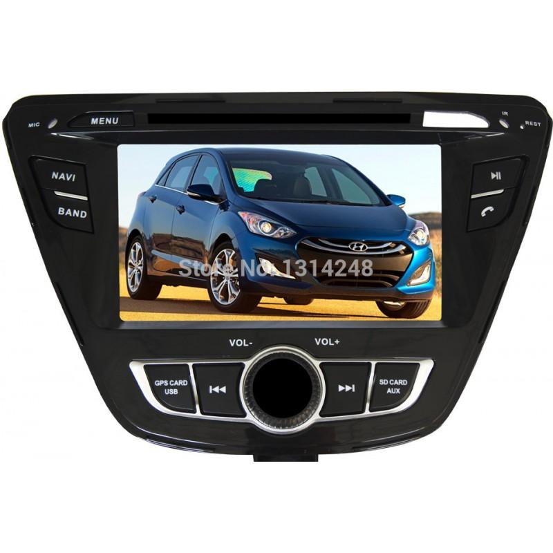 Hyundai Elantra Hatchback 2014: Radio DVD Elantra 2014