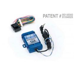 Control de audio en el guia universal PAC SWI-RC