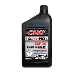 Aceite de motor Super HD SAE-50 para motores Diesel y gasolina / Caja de 12/ 1/4