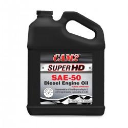 Aceite de motor SAE 50 HD CF2 para motores Diesel y gasolina en galon / caja de 3 galones