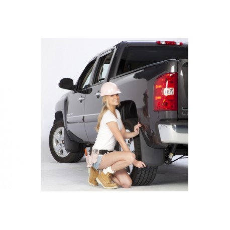 Toyota Hilux Vigo 2005-2012 Aletas de guardalodo set de 4 PCS / Mud Guards Chapaletas