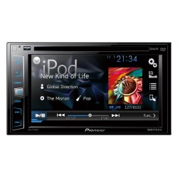 AVH-X1750DVD Pioneer Multimedia Radio doble din con DVD pantalla touch