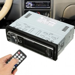 Auto Car Stereo MP3 Radio Audio Player In-Dash FM Transmitters Aux Input Receiver SD USB