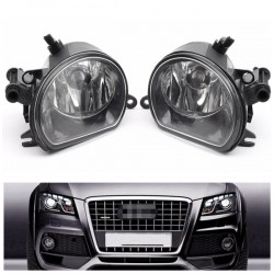 2Pcs 55W 12V H11 LED Car Fog Lights Front Bumper Head Lamps For AUDI Q7 2010-2015
