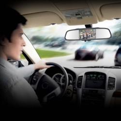 Kit de reversa para vehiculos / incluido camara espejo monitor y 4 sensores