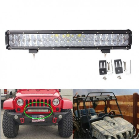 Barra de luces led barra de luces led de 20 pulgadas doble lineas ideal para jeep todo terreno utv dc10 thecheapjerseys Gallery