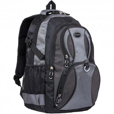 Bulto ARGOM MONZA Notebook Backpack 15.6 Gris Mochila Monza para LapTop
