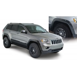 Jeep Grand Cherokee 2011-2016 Fender Flare Set de 4 Delanteros y Traseros Color Negro Mate