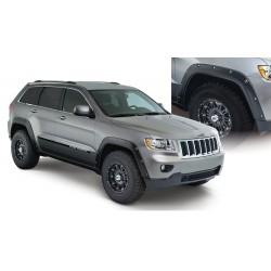 Jeep Grand Cherokee 2011-2016 Fender Flare Set de 4 Delanteros y Traseros Color Negro Mate