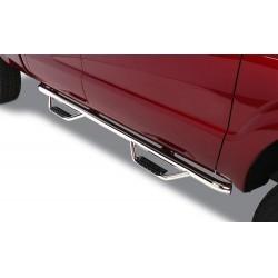 Ford F150 Estribos en tubos Acero Inoxidable Go Rhino / Set de dos PCS Lado Derecho y lado Izquierdo