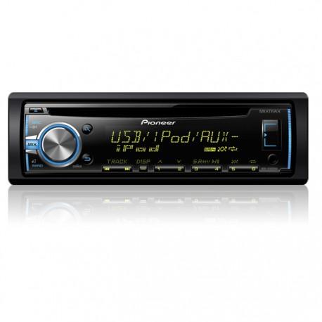 DEH-X3800UI Radio Pioneer Con USB y Iphone Ready