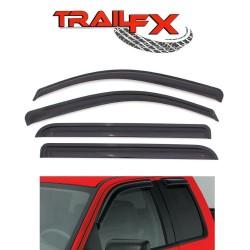 Viseras de puertas Honda CRV 2007-2011 / Set de 4 PCS