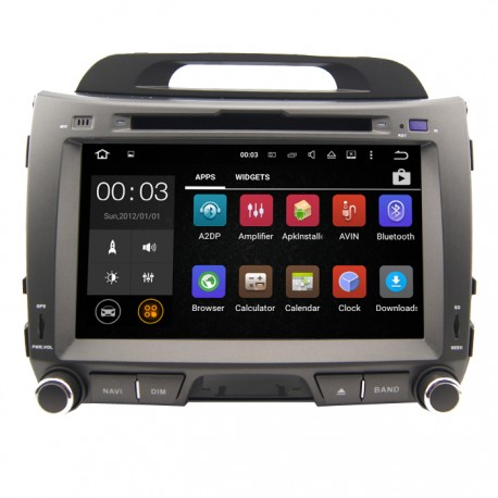 KIA SPORTAGE 2010-2014 Android 5.1.1 OS Quad Core 16G KIA Sportage Reproductor de DVD de auto