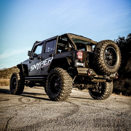 Jeep Wrangler 2007-2017 Bomper Defensa Trasero / Westin Automotive Products