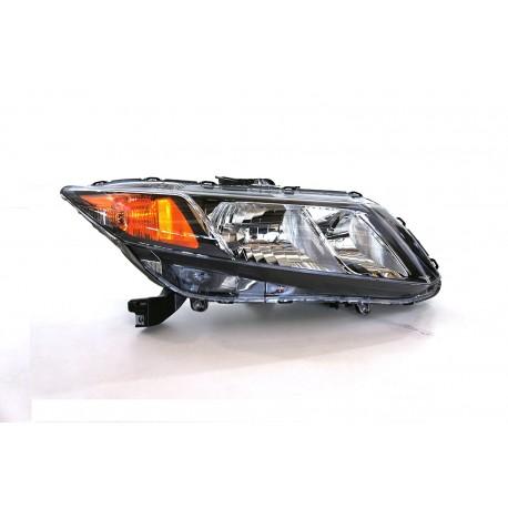 Honda Civic 2012-2013 Pantalla delantera Izquierda o derecha tipo original Headlights