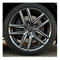 Lexus IS 350F Sport 2014 Aros de magnesio en 18 pulgadas / Replica tipo original
