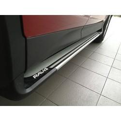 Estribos laterales Toyota RAV-4 2013-2016 / Set de dos piezas