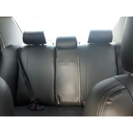 Toyota Highlander Forros de asientos en leatherette (Vynil)