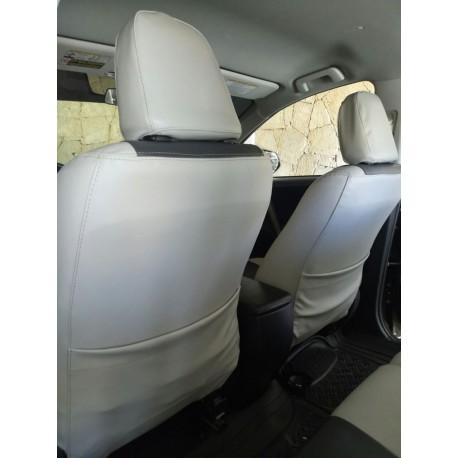 Nissan Versa Forros de asientos en leatherette (Vynil)