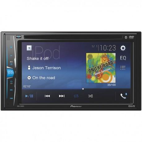 Radio Pioneer AVH-200EX-Multimedia DVD-Bluetooth
