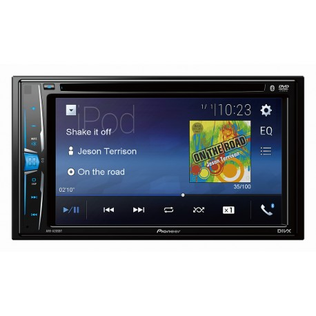Radio Pioneer AVH-205EX-Multimedia DVD-Bluetooth