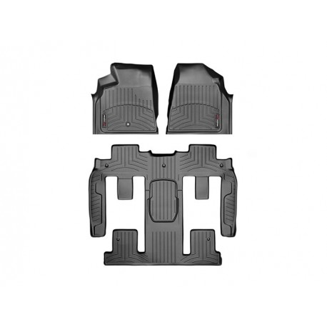 Chevrolet Traverse 2014 Alfombras Weathertech