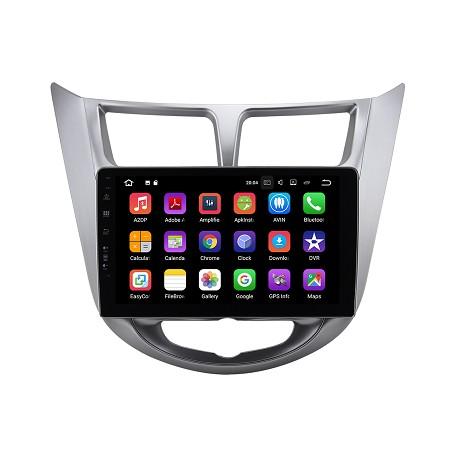 Hyundai Accent 2012-2017-Radio Android