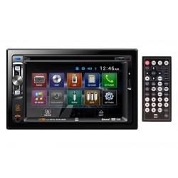 Radio Dual XDVD256BT-Doble DIN-DVD-CD-AM-FM-WMA-AAC-AVI-Bluetooth