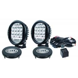 Hella 500 LED-Faroles Redondondos